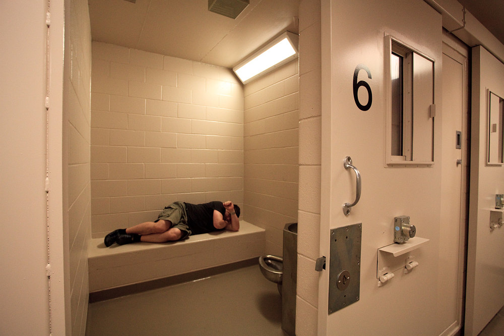 Asmir tests out holding cell - Doors Open Kingston - Andrew Lavigne\u0027s website & Asmir tests out holding cell - Doors Open Kingston - Andrew ...