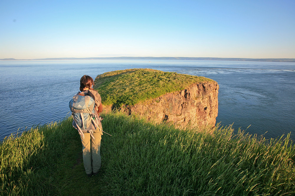 Grassy Cape Split - Hike to Cape Split, Nova Scotia - Andrew Lavigne's ...: alavigne.net/miscellaneous/commonutils/presentation/show_image.jsp...