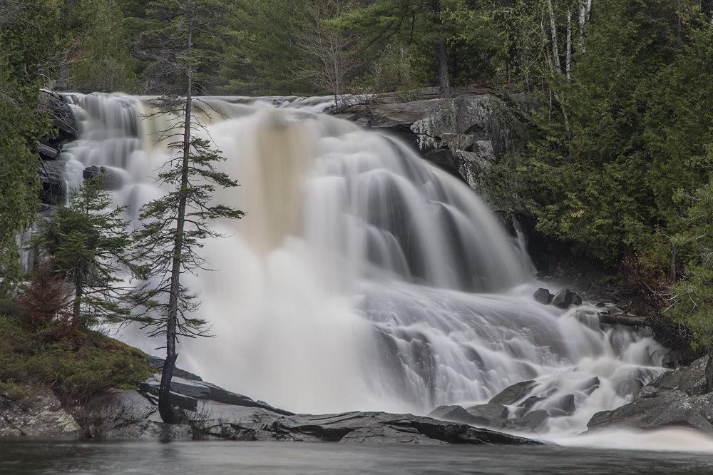 High Falls - Achray to Squirrel Rapids Canoe - Barron