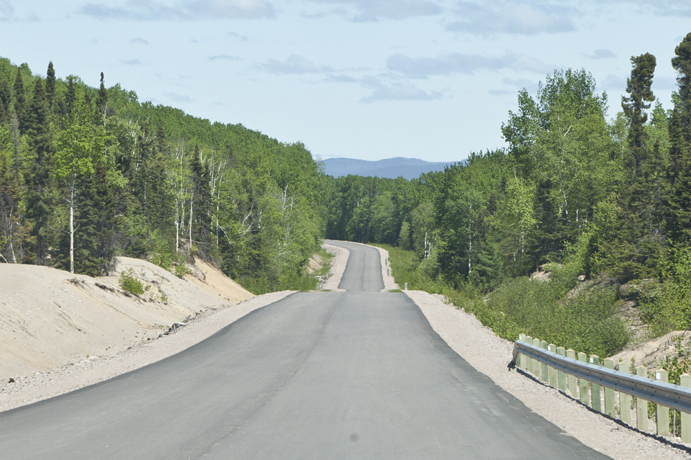 Newly Paved 500 The Trans Labrador Highway A Highway