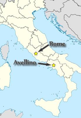 Questione di Famiglia Italy Avellino and the Perugini Family